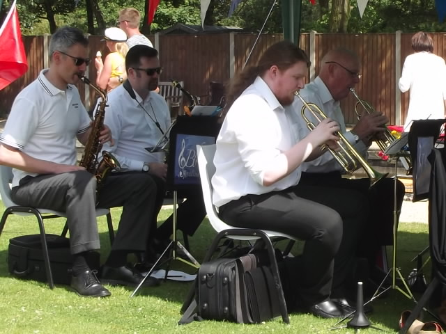 Ranworth Fete 2016 - Trumpets and Saxophones